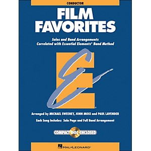 Hal-Leonard-Film-Favorites-Conductor-Book-CD-Standard