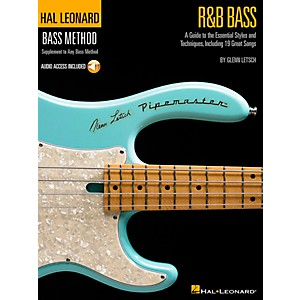 Hal-Leonard-R-B-Bass---Hal-Leonard-Bass-Method-Stylistic-Supplement-Book-CD-Standard