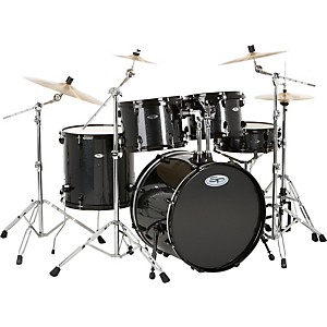Sound-Percussion-5-Piece-Pro-Plus-Shell-Pack-BLACK-SPARKLE