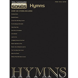 Hal-Leonard-Essential-Songs---Hymns-arranged-for-piano--vocal--and-guitar--P-V-G--Standard