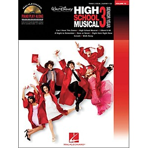 Hal-Leonard-High-School-Musical-3-Piano-Play-Along-Volume-72-Book-CD-arranged-for-piano--vocal--and-guitar--P-V--Standard