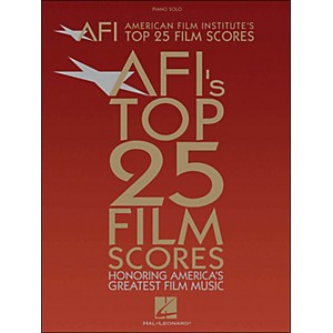 Hal-Leonard-American-Film-Institute-s-Top-25-Film-Scores-arranged-for-piano--vocal--and-guitar--P-V-G--Standard
