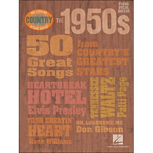 Hal-Leonard-The-1950s-Country-Decade-Series-arranged-for-piano--vocal--and-guitar--P-V-G--Standard