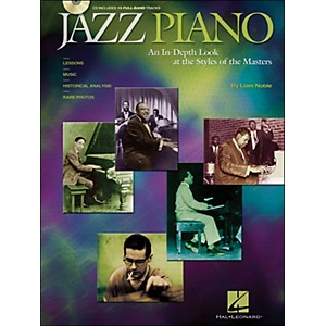 Hal-Leonard-Jazz-Piano-Book-CD-An-In-Depth-Look-At-The-Styles-Of-The-Masters-Standard