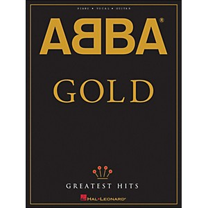 Hal-Leonard-Abba-Gold-Greatest-Hits-arranged-for-piano--vocal--and-guitar--P-V-G--Standard