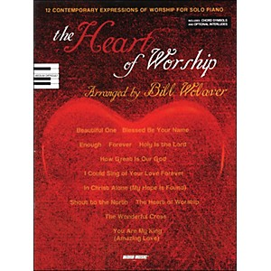 Word-Music-Heart-Of-Worship-arranged-for-piano--vocal--and-guitar--P-V-G--Standard