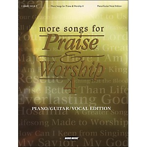 Word-Music-More-Songs-For-Praise---Worship-Vol-4-arranged-for-piano--vocal--and-guitar--P-V-G--Standard