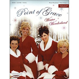 Word-Music-Point-Of-Grace---Winter-Wonderland-arranged-for-piano--vocal--and-guitar--P-V-G--Standard