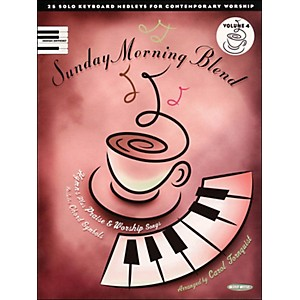 Word-Music-Sunday-Morning-Blend-Vol-4-arranged-for-piano--vocal--and-guitar--P-V-G--Standard