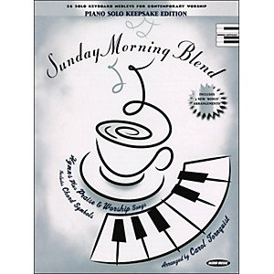 Word-Music-Sunday-Morning-Blend-Keepsake-Edition-arranged-for-piano--vocal--and-guitar--P-V-G--Standard