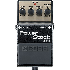 Boss-ST-2-Power-Stack-Distortion-Guitar-Effects-Pedal-Standard