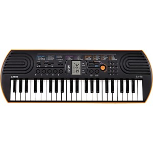 Casio-SA-76-Keyboard-Orange