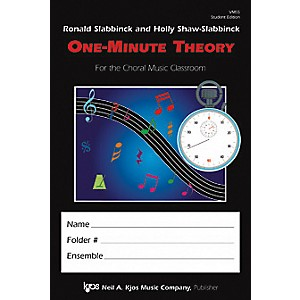 KJOS-One-Minute-Theory-Student-Edition-Standard