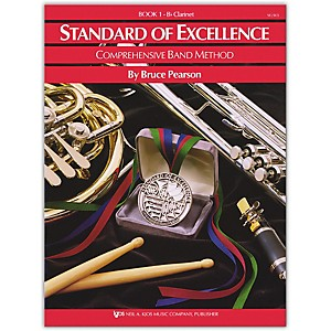 KJOS-Standard-Of-Excellence-Book-1-Clarinet-Standard