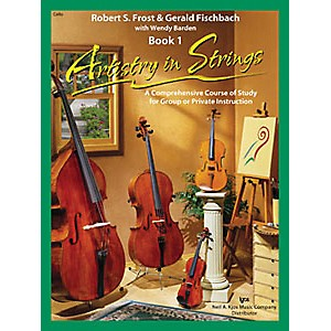 KJOS-Artistry-In-Strings-Book-1-CD-Cello-Standard
