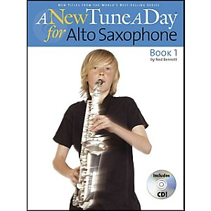 Music-Sales-A-New-Tune-A-Day-Alto-Sax-Book-1-Book-CD-Standard
