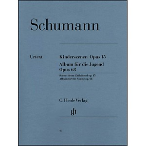 G--Henle-Verlag-Album-For-The-Young-Op--68-And-Scenes-From-Childhood-Op--15-By-Schumann-Standard