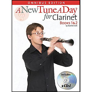 Music-Sales-A-New-Tune-A-Day-Clarinet-Omnibus-Book-1-2-Book-2CD-s-Standard