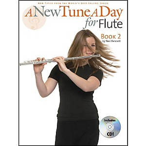 Music-Sales-A-New-Tune-A-Day-For-Flute-Book-2-Book-CD-Standard