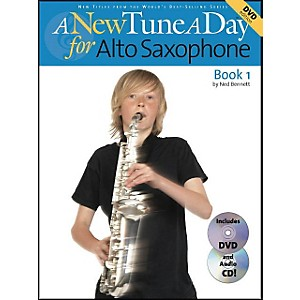 Music-Sales-A-New-Tune-A-Day-For-Alto-Saxophone-Book-1-Book-CD-DVD-Standard