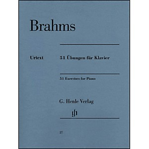 G--Henle-Verlag-51-Exercises-For-Piano-By-Brahms-Standard