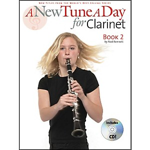 Music-Sales-A-New-Tune-A-Day-For-Clarinet-Book-2-Book-CD-Standard