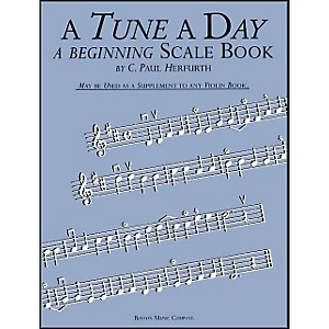 Music-Sales-A-Tune-A-Day-Beginning-Scale-Book-Violin-Standard