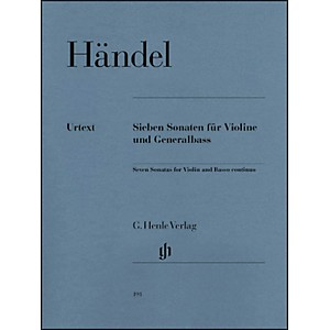 G--Henle-Verlag-7-Sonatas-for-Violin-and-Basso-Continuo-By-Handel-Standard