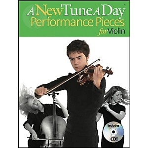 Music-Sales-A-New-Tune-A-Day-Performance-Pieces-For-Violin-Book-CD-Standard