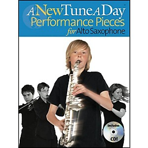 Music-Sales-A-New-Tune-A-Day-Performance-Pieces-Alto-Sax-Book-CD-Standard