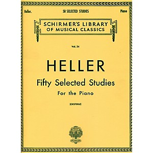 G--Schirmer-50-Selected-Studies-For-Piano-By-Heller-Standard