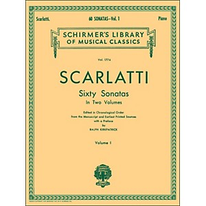 G--Schirmer-60-Sonatas-Vol-1-Piano-Contains-Sonatas-No-1---No-30-By-Scarlatti-Standard