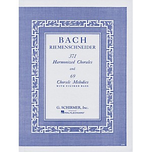 G--Schirmer-371-Harmonized-Chorales---69-Chorale-Melodies-With-Figured-Bass-By-Bach-Standard