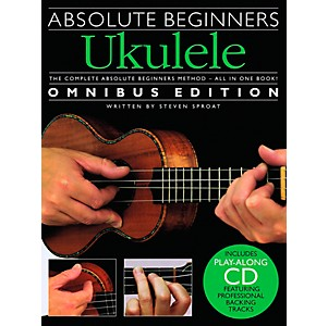 Music-Sales-Absolute-Beginners-Ukulele---Books-1---2-With-CD-Standard