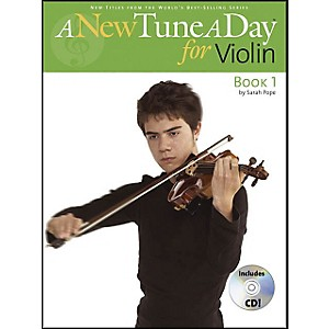 Music-Sales-A-New-Tune-A-Day-For-Violin-Book-CD-Standard
