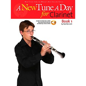 Music-Sales-A-New-Tune-A-Day-For-Clarinet-Book-1-Book-CD-Standard