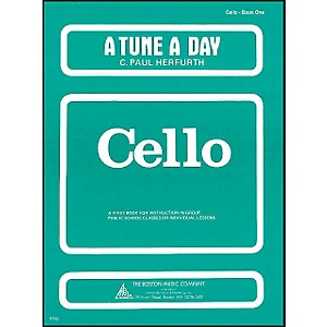 Music-Sales-A-Tune-A-Day-For-Cello-Book-1-Standard