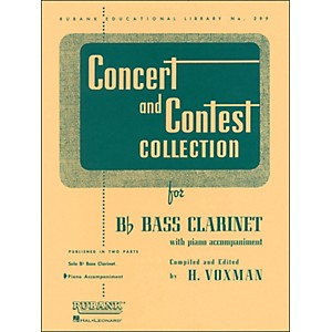 Hal-Leonard-Concert-And-Contest-Collection-For-B-Flat-Bass-Clarinet-For-Piano-Accompaniment-Only-Standard