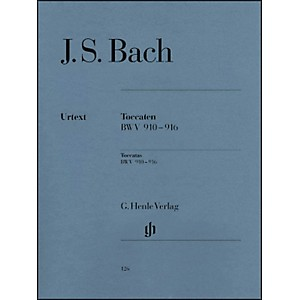 G--Henle-Verlag-Bach-Toccatas-BWV-910-916-By-Bach-Standard