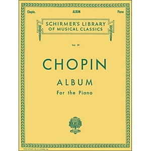 G--Schirmer-Chopin-Album-Of-33-Compositions-For-The-Piano-By-Chopin-Standard