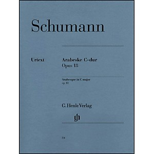 G--Henle-Verlag-Arabesque-C-Major-Op--18-By-Schumann-Standard