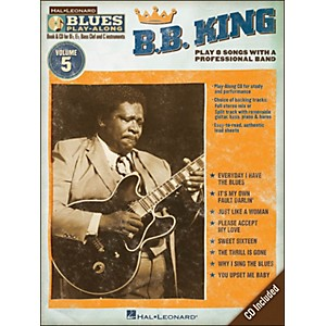 Hal-Leonard-B-B--King---Blues-Play-Along-Volume-5-Book-CD-Standard