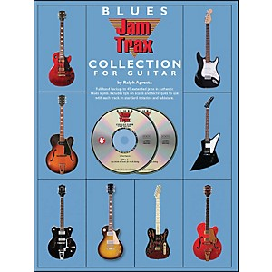 Music-Sales-Blues-Jamtrax-Collection---Book-2-CD-Pack-Standard
