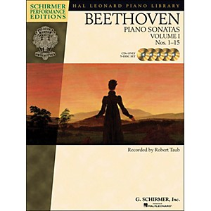 Hal-Leonard-Beethoven--Piano-Sonatas-Vol-1--1---15--Schirmer-Performance-Edition-CD-s--Set-of--5--By-Beethoven---Standard