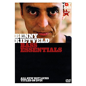 Music-Sales-Benny-Rietveld---Bass-Essentials-DVD-Standard