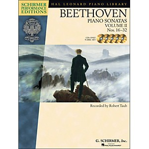 Hal-Leonard-Beethoven--Piano-Sonatas-Vol-2---Schirmer-Performance-Edition-CD-s--Set-of-5--By-Beethoven---Taub-Standard