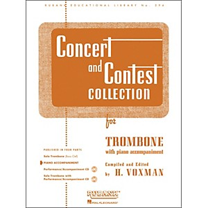 Hal-Leonard-Concert-And-Contest-Collection-For-Trombone---Piano-Accompaniment-Only-Standard