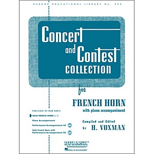 Hal-Leonard-Concert-And-Contest-Collection-French-Horn-In-F-Solo-Part-Only-Standard