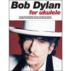 Music-Sales-Bob-Dylan-For-Ukulele-Songbook-Standard