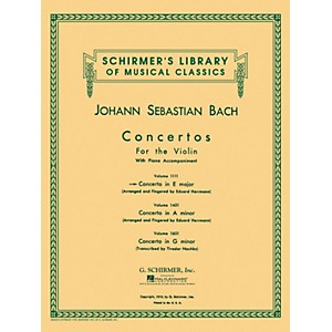 G--Schirmer-Concerto-For-Violin-In-E-Major-With-Piano-Reduction-By-Bach-Standard